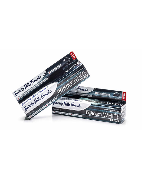 beverly hills formula perfect black & white toothpaste