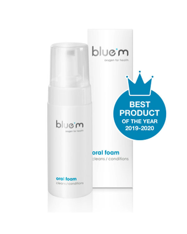 blue®m oral foam (100ml)